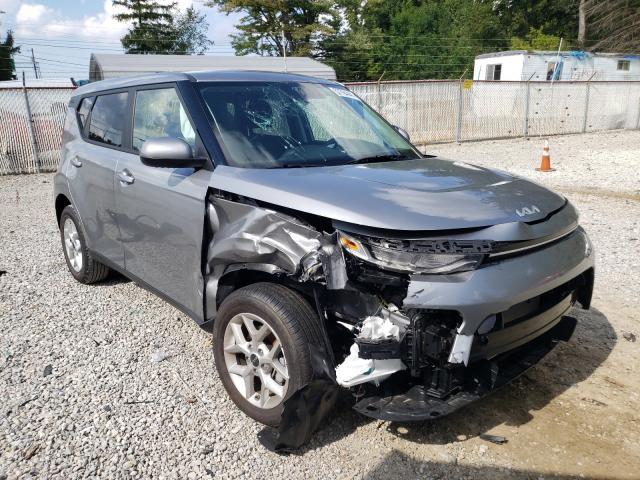 KIA salvage cars for sale: 2022 KIA Soul LX