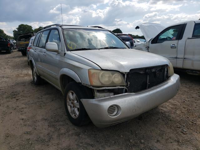 Salvage cars for sale at Conway, AR auction: 2003 Toyota Highlander