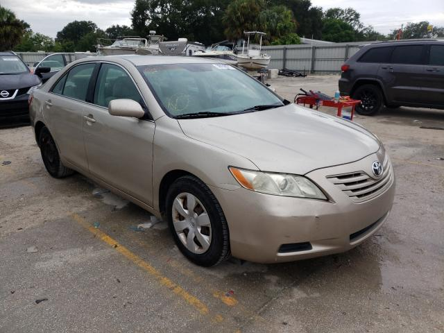 Salvage cars for sale from Copart Punta Gorda, FL: 2007 Toyota Camry CE