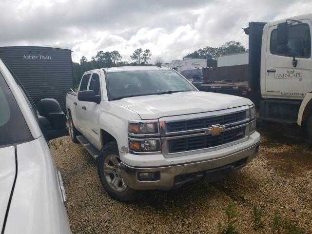 Salvage trucks for sale at Theodore, AL auction: 2014 Chevrolet Silverado