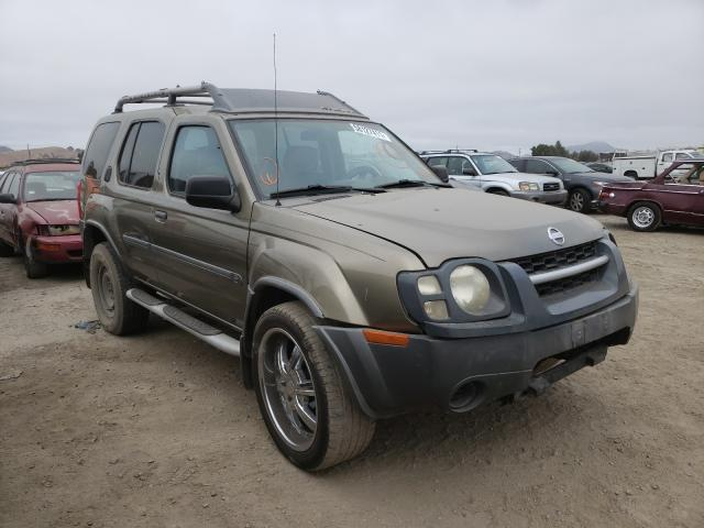 Salvage cars for sale from Copart San Martin, CA: 2002 Nissan Xterra XE