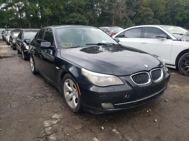 Salvage cars for sale from Copart Austell, GA: 2008 BMW 528 I