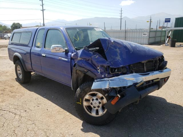 Salvage cars for sale from Copart Colorado Springs, CO: 1996 Toyota Tacoma XTR