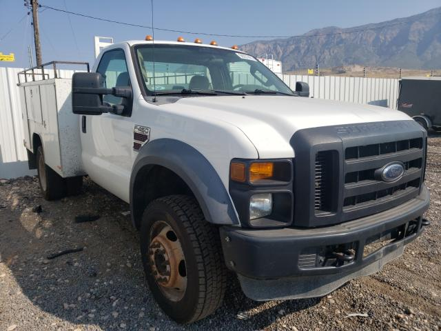 Salvage cars for sale from Copart Farr West, UT: 2009 Ford F450 Super