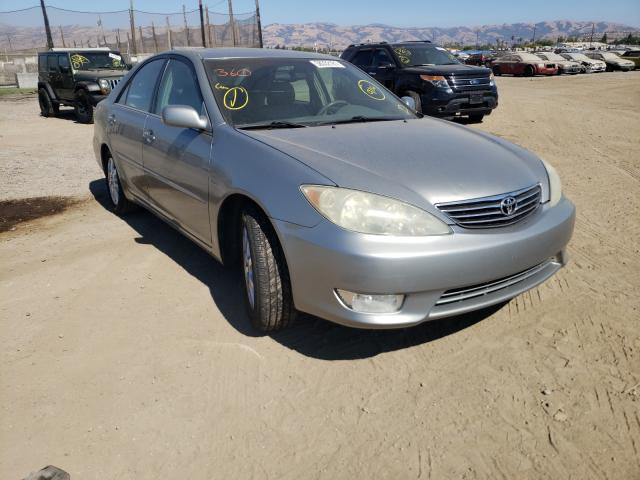 Salvage cars for sale from Copart San Martin, CA: 2005 Toyota Camry LE