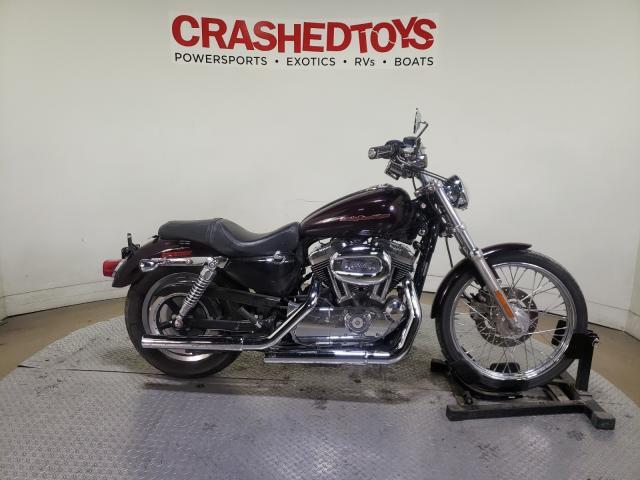 Vehiculos salvage en venta de Copart Dallas, TX: 2007 Harley-Davidson XL1200 C
