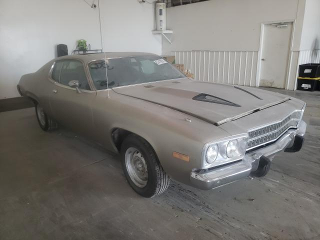 Plymouth salvage cars for sale: 1974 Plymouth Satellite