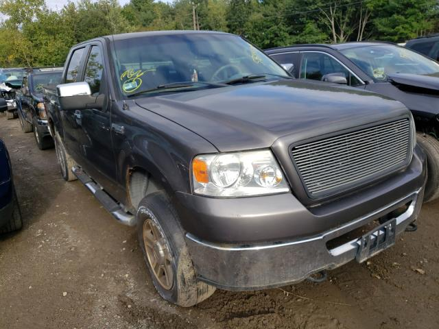 Salvage trucks for sale at Billerica, MA auction: 2006 Ford F150 Super