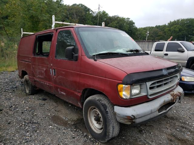 Salvage trucks for sale at Finksburg, MD auction: 1997 Ford Econoline
