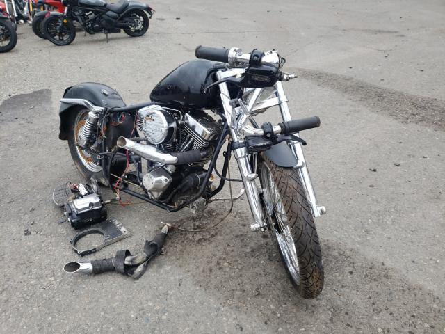 Salvage cars for sale from Copart Pennsburg, PA: 1987 Harley-Davidson Flht Class