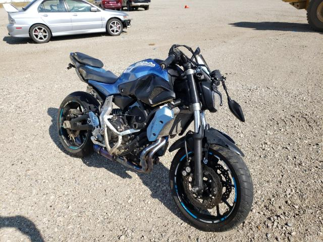 Salvage cars for sale from Copart Bismarck, ND: 2017 Yamaha FZ07