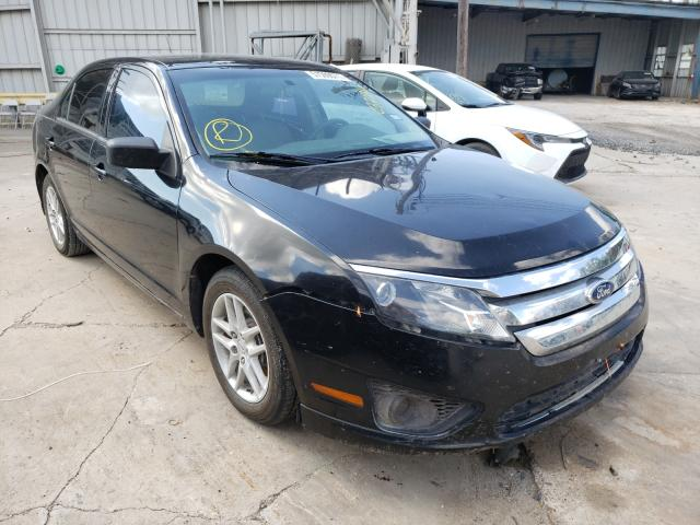 Salvage cars for sale from Copart Corpus Christi, TX: 2010 Ford Fusion S