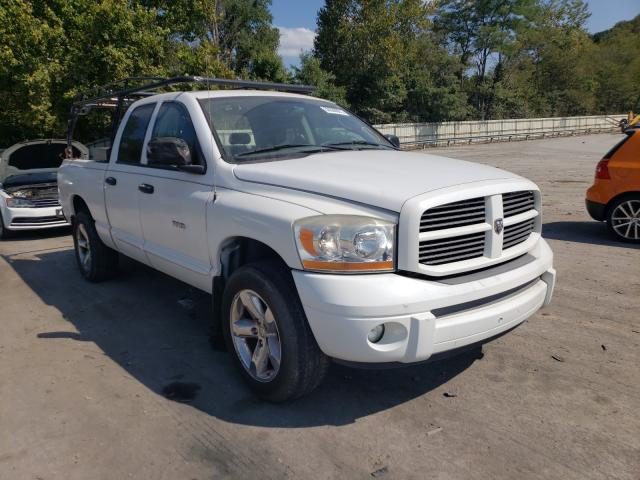 Salvage cars for sale from Copart Ellwood City, PA: 2006 Dodge RAM 1500 S