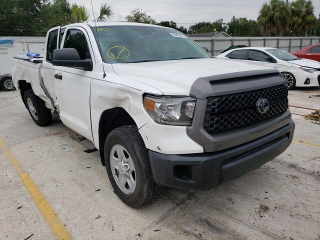 Salvage cars for sale from Copart Punta Gorda, FL: 2018 Toyota Tundra DOU