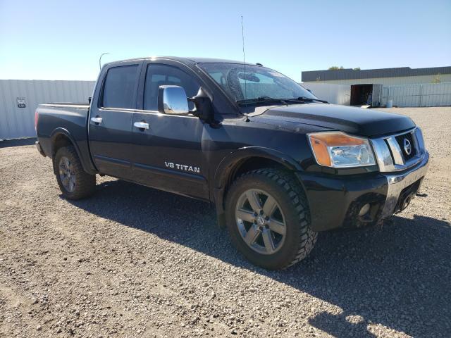 Vehiculos salvage en venta de Copart Bismarck, ND: 2008 Nissan Titan XE