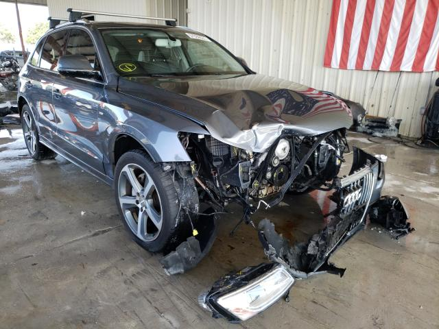 Salvage cars for sale from Copart Homestead, FL: 2017 Audi Q5 Premium