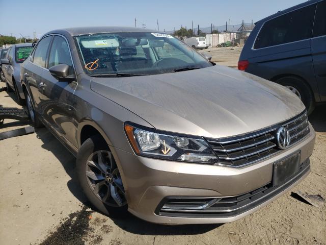Salvage cars for sale from Copart San Martin, CA: 2016 Volkswagen Passat S