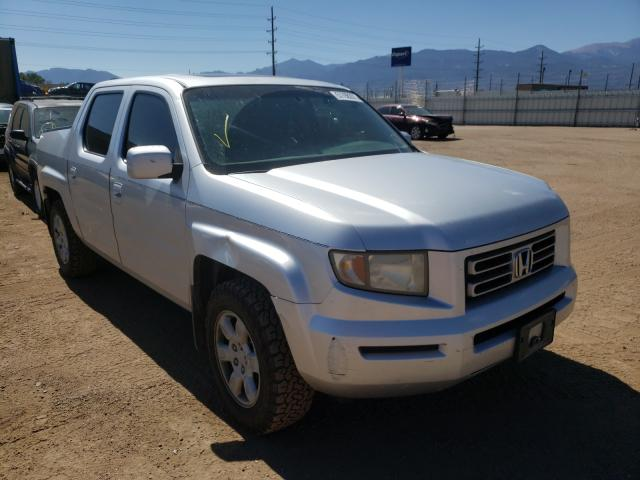 Salvage cars for sale from Copart Colorado Springs, CO: 2006 Honda Ridgeline