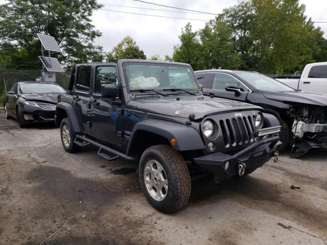 Salvage cars for sale from Copart Marlboro, NY: 2018 Jeep Wrangler U