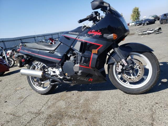 Salvage cars for sale from Copart Martinez, CA: 1988 Kawasaki ZX750 F