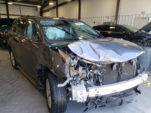 Salvage cars for sale from Copart Byron, GA: 2015 Toyota Highlander