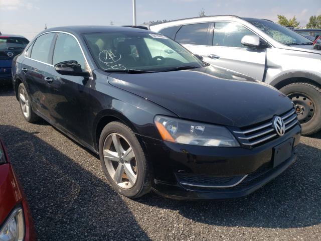 Salvage cars for sale at Bowmanville, ON auction: 2012 Volkswagen Passat SE