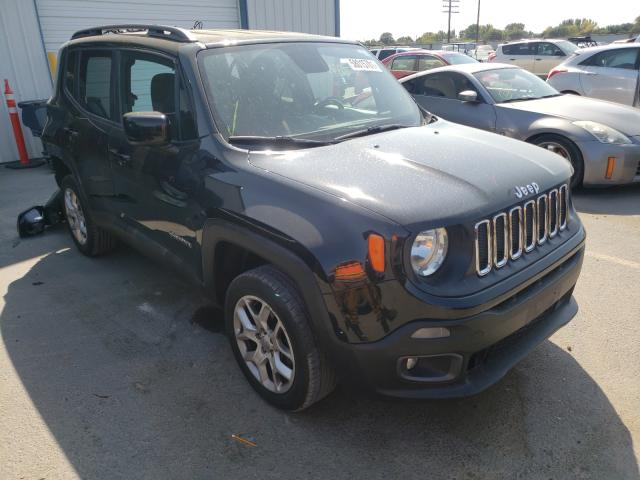 Jeep salvage cars for sale: 2016 Jeep Renegade L