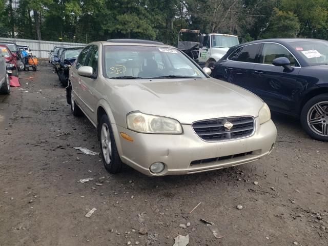 Salvage cars for sale from Copart Austell, GA: 2000 Nissan Maxima GLE
