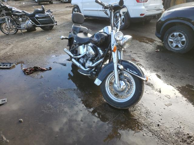 Salvage cars for sale from Copart Lyman, ME: 2006 Harley-Davidson Flstci