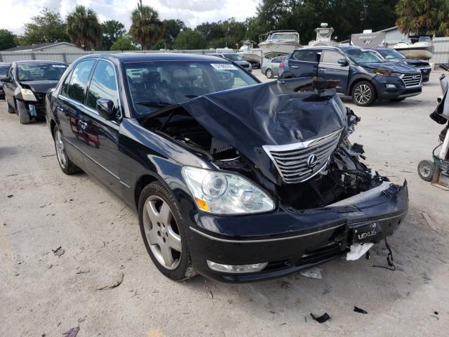 Salvage cars for sale from Copart Punta Gorda, FL: 2005 Lexus LS 430