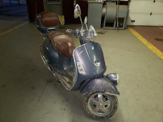 Salvage cars for sale from Copart Marlboro, NY: 2007 Vespa GTS 250