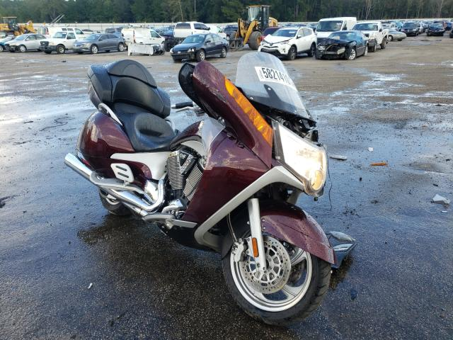 Salvage motorcycles for sale at Harleyville, SC auction: 2009 Victory Vision TOU