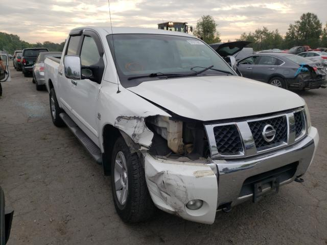 Salvage cars for sale from Copart Portland, OR: 2004 Nissan Titan XE
