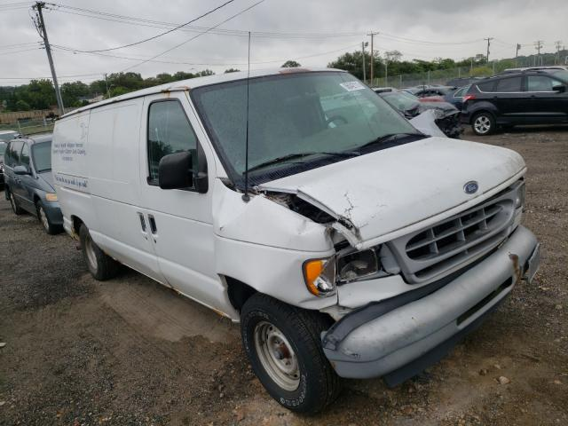 Salvage trucks for sale at Baltimore, MD auction: 2002 Ford Econoline