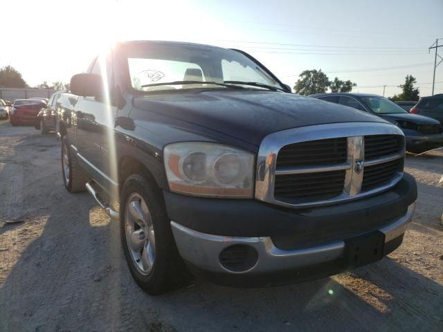 Salvage cars for sale at Oklahoma City, OK auction: 2006 Dodge RAM 1500 S