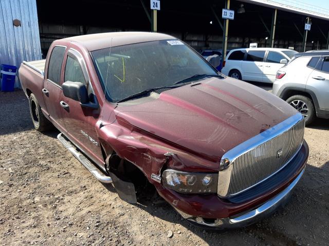 Vehiculos salvage en venta de Copart Phoenix, AZ: 2003 Dodge RAM 1500 S