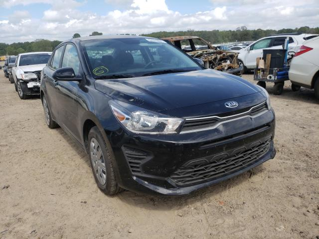 Salvage cars for sale at Conway, AR auction: 2021 KIA Rio LX