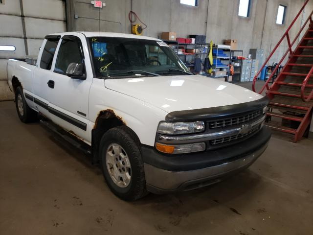 Salvage cars for sale from Copart Blaine, MN: 2002 Chevrolet Silverado