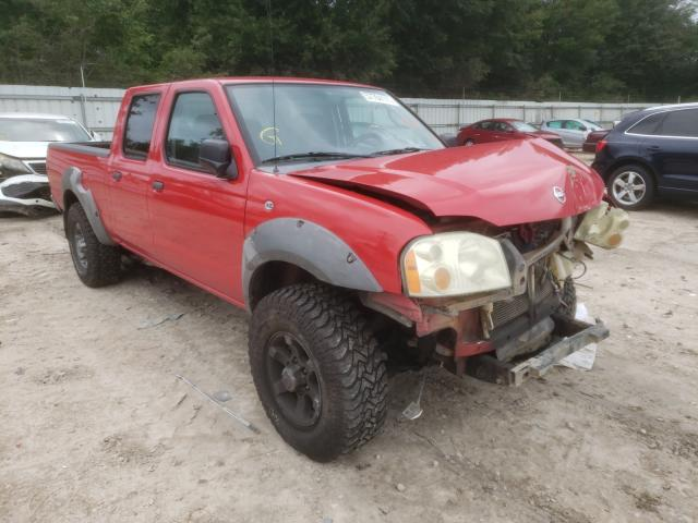 Salvage cars for sale from Copart Midway, FL: 2003 Nissan Frontier C