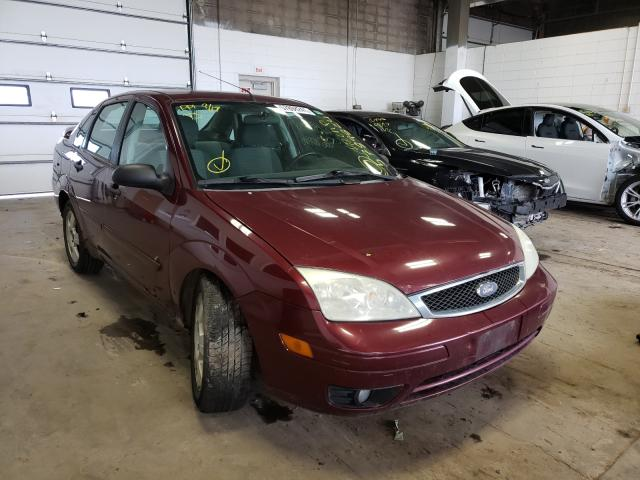 Salvage cars for sale from Copart Blaine, MN: 2007 Ford Focus ZX4