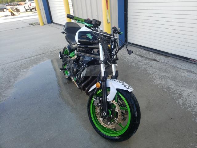 Salvage motorcycles for sale at Alorton, IL auction: 2015 Kawasaki EX650 E