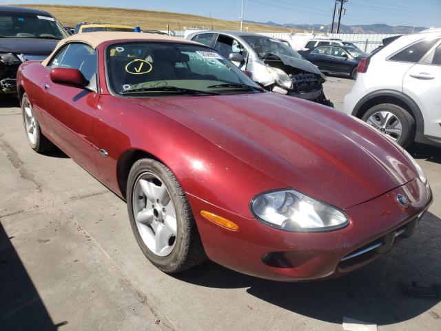 Jaguar XK8 salvage cars for sale: 1999 Jaguar XK8