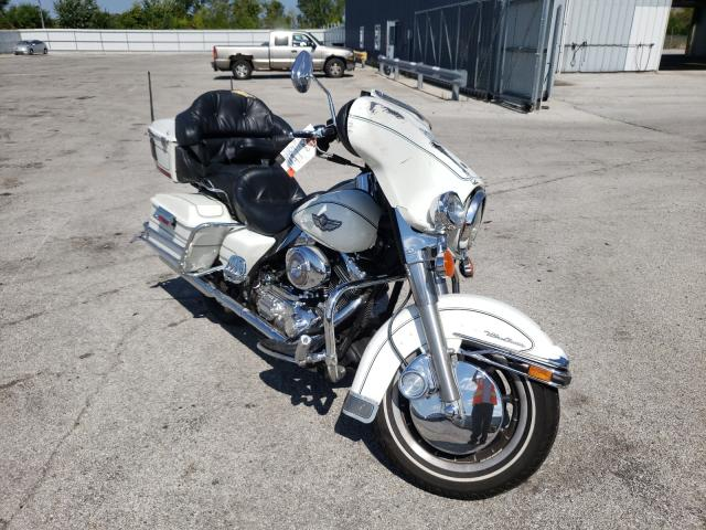 Salvage cars for sale from Copart Dyer, IN: 2003 Harley-Davidson Flhtcui SH