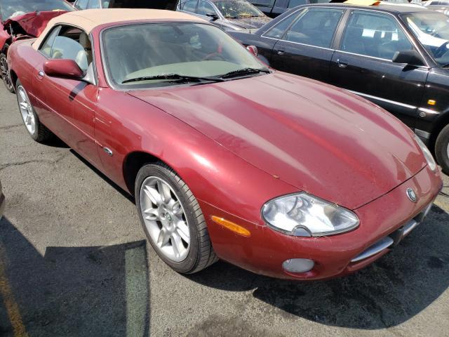 Jaguar XK8 salvage cars for sale: 2001 Jaguar XK8