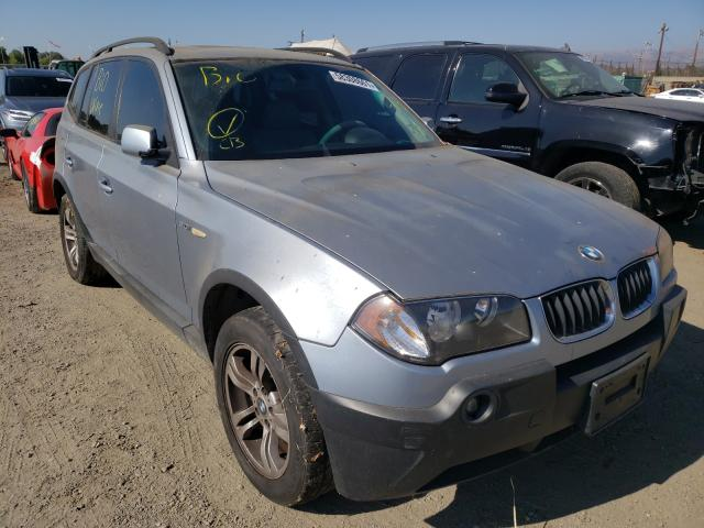 Salvage cars for sale from Copart San Martin, CA: 2005 BMW X3 3.0I