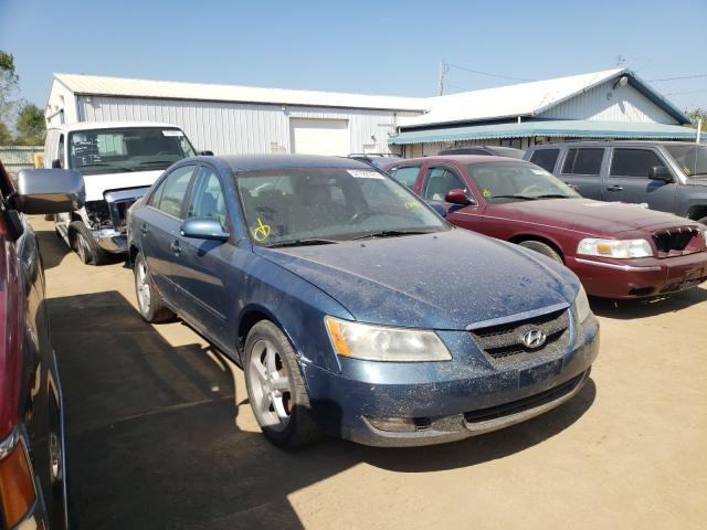 Salvage cars for sale from Copart Pekin, IL: 2007 Hyundai Sonata SE