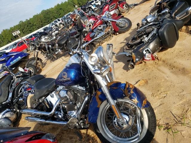 Salvage cars for sale from Copart Gaston, SC: 2017 Harley-Davidson Flstn Soft