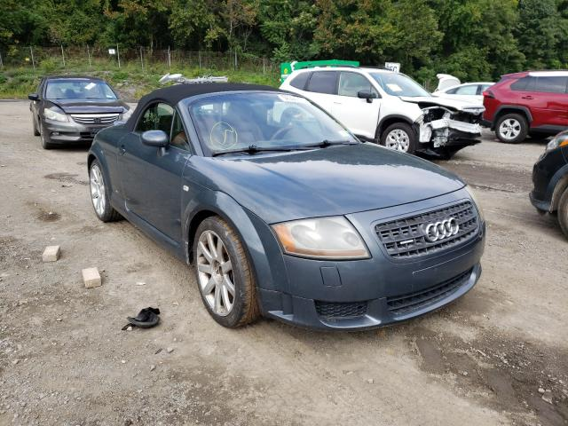 Salvage cars for sale from Copart Marlboro, NY: 2004 Audi TT 3.2