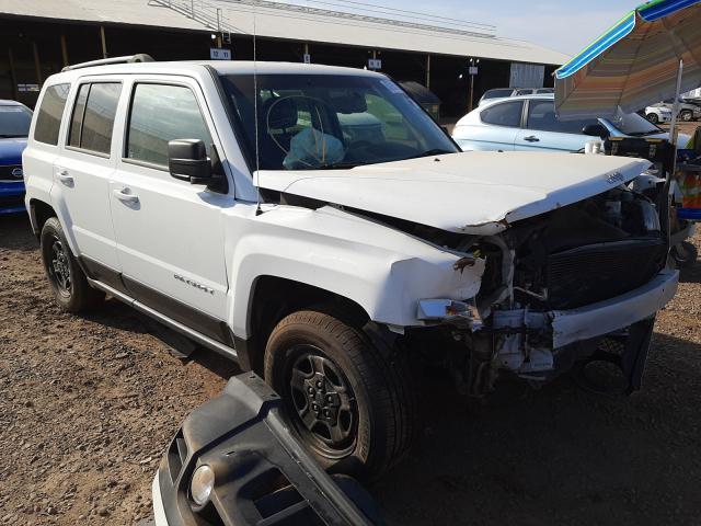 Salvage cars for sale from Copart Phoenix, AZ: 2016 Jeep Patriot SP