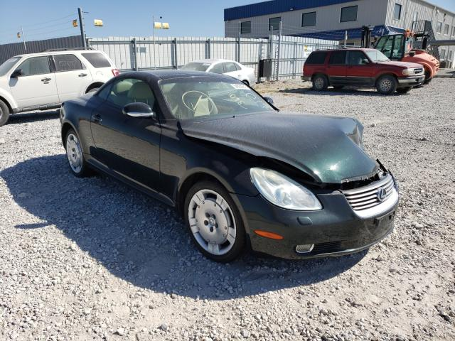 Salvage cars for sale at Greenwood, NE auction: 2003 Lexus SC 430